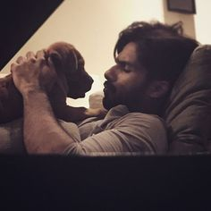 For Shahid Kapoor, happiness is… his new puppy- view pic! #ShahidKapoor
