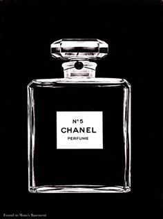 1974 ad for Chanel No. 5 perfume - Found in Mom's Basement