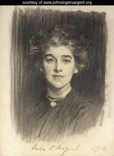 Portrait of Mrs. Godfrey William Paget Mellor (Norah Alston)-- John Singer Sargent