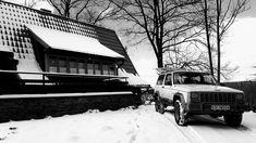 Winter jeep xj