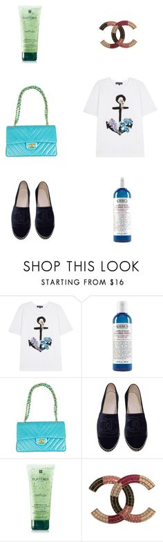 """""""pls like if u are going to use an item from my set"""" by alaa88 ❤ liked on Polyvore featuring Markus Lupfer, Kiehl's, Chanel and Rene Furterer"""