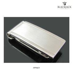 Blackjack Stainless Steel Money Clip - Assorted Styles