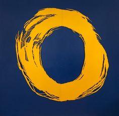 Pincelada Circular Amarela (1998).