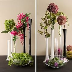 With 3 Colors And Sizes To Choose From Tower Vases Make The Perfect Centerpiece On