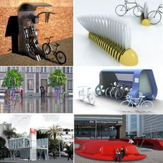 10 modular bicycle stands designed for better cities - Designbuzz Bicycle Stand, Bicycle Rack, Bike Storage, Stand Design, Creative Home, Industrial Design, Architecture Design, City, Projects