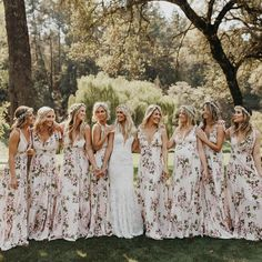 """5,592 Likes, 81 Comments - Jordan Voth (@jordanvoth) on Instagram: """"Nicole's bridesmaids were killing it in these dresses from @beachriot. This wedding is featured…"""""""
