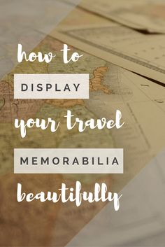 So you went on an amazing trip, took hundreds of gorgeous photos, and picked up a few travel souvenirs along the way. What do you do with them now?