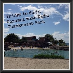Things to do in Cozumel with Kids Chankanaab Park. #travel #cozumel #mexico