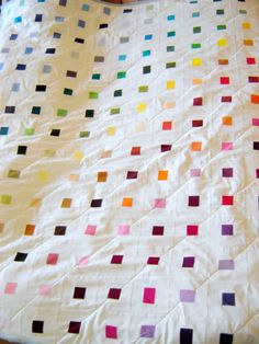 Charlie Makes...: Steve and Ali's rainbow quilt