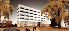 Hotel Park and Seeallee Heiden Competition Entry / Kubota & Bachmann Architects + Martinez