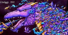 "505 Likes, 74 Comments - Magdalena Klepacz  (@twiggy_182) on Instagram: ""Mythomorphia  by: @kerbyrosanes Van Gogh Watercolors, W&N, Cotman Watercolors, Prismacolor…"""