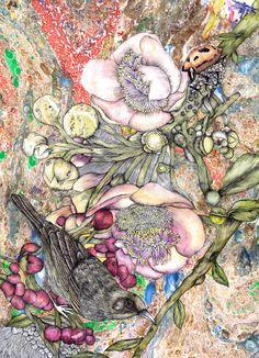by Victoria Garcia WORKS ON PAPER on Illustration Served