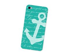 Nautical Anchor iPhone 4S Skin. Cute iPhone cases are always a good bet for my girls!