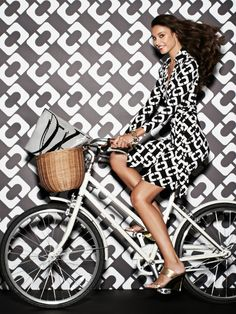 The DVF Heritage Collection in Chainlink