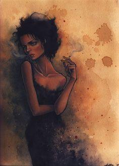 """(The Big Tourist) Marla"" by Stella Im Hultberg"