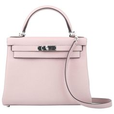 Hermes Kelly Glycine 28 cm Togo Leather with Silver HDW