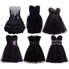 Cute Dressy Outfits | black dress, black dress cute, cute, fashion - image #144780 on Favim ...