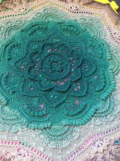 Ravelry: knitting-traveler's Mandala madness with scheepjes whirl