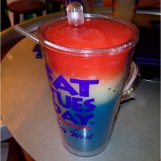 Best frozen drink bar in the world! Fat Tuesdays Key West