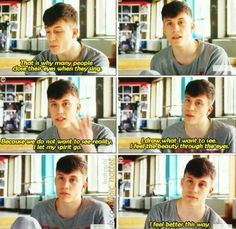 Thank you Loic Nottet you can say thing I need to say but can't explain it.