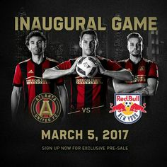 MLS announces 2017 home opener for Atlanta United Atlanta United Fc, Atlanta Mls, Bobby Dodd, Turner Field, Front Row, Georgia, Champion, Soccer, The Unit