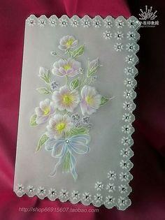Pergamano, Parchment Craft, Dentelle de Papier.