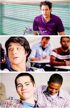 Haha! Stiles and his sarcasm!!