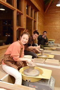 Pottery Class during Travel #nasu #rentacar #rental #car #trip #travel #hotsprings #tochigi #tokyo #japan #japankuru #winter #resort #pottery #culture #world #handmade #epinard #hotel