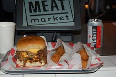 MeatMarket Black Palace Burger at the Meatmarket in Jubilee Market Hall in Covent Garden. Open every day (LW7)