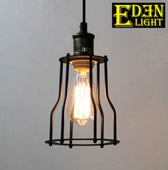 Eden Light is a progressive lighting company committed to bringing the best quality, most stylish and affordable light fittings to NZ. Industrial Pendant Lights, Pendant Lighting, Light Fittings, Light Bulb, Iron, Frame, House, Home Decor, Products