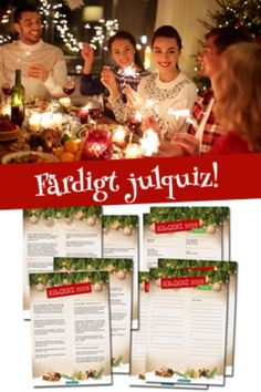 Förbeställ årets julquiz 2019 här. #julquiz #julfest #festlekar #jullekar #grapevine Grape Vines, Christmas, Decor, Quizes, Velvet, Xmas, Decoration, Vineyard Vines, Navidad