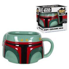 Star Wars Boba Fett Pop! Home Mug #BobaFett #StarWars #Fanstuff