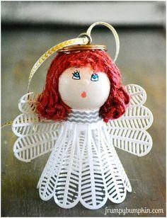angel birdie ornaments