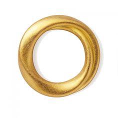 Niessing Tordamo, Geheimnisvoller Ring mit herzförmigem Querschnitt. 900 Gold. Symbol für Ihre Liebe.