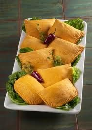 Jamaican Beef Patties - Jamaican Food  Yes sah, mi wouldn't mind fi mash up sum mother's patty yah now. Miss this :(