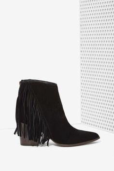 Steve Madden Country Suede Fringe Bootie | Shop Product at Nasty Gal!