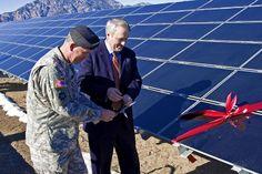 Georgia: Largest Solar Power Plants on U.S. Military Bases - http://1sun4all.com/solar-utility-scale/georgia-solar-power-u-s-military-bases/