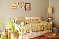House Tour: A Cozy Teeny Tiny Boho Studio | Apartment Therapy