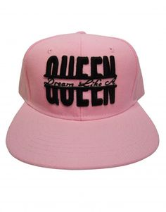 Dream Like A Queen Pink Women s Snapback Hat  19.95 c82442edb004
