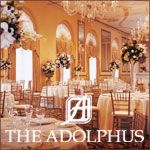 The Adolphus in Dallas, Texas - Offering Fairy Tale Weddings and The Perfect Dallas Wedding Location Since 1912, The Adolphus has been the proud host of fairy tale weddings. Here, you'll find a level of romance and splendor that cannot be duplicated.  And our experienced wedding planners and professional catering services team pays the utmost attention to every detail to make sure your wedding reception dreams come true. - www.hoteladolphus.com