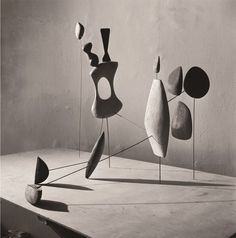 For more inspiration follow me on IG: THEGYPSETTER Also on > www.samaryounes.com <  Calder by Matter Constellation - Herbert Matter, Vertical Constellation with Yellow Bone, 1943. Photo Herbert Matter.