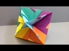 Modular Origami - How to make Modular Star Sphere Origami - YouTube
