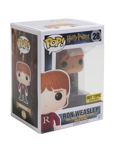 Funko Harry Potter Pop! Ron Weasley (Sweater) Vinyl Figure Hot Topic Exclusive | Hot Topic