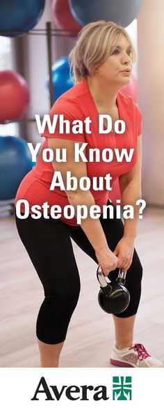 We've all heard of osteoporosis, but what about its cousin, osteopenia? Theresa Hansen, APRN, Avera family medicine provider, talks about the similarities and differences between the two bone-weakening disorders. Health And Wellness, Health Fitness, Similarities And Differences, Back Exercises, Primary Care, Dietitian, Chronic Illness, Disorders, Did You Know