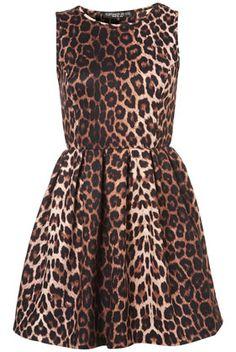 b9b0fb7383db6 Petite Animal Skater Dress Petite Outfits, Petite Dresses, Leopard Dress,  Cheetah, Fall