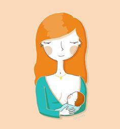 Dibujardi representativo de la Semana Mundial de la Lactancia Materna.  http://seelvana.blogspot.com.ar/2013/08/lactancia.html