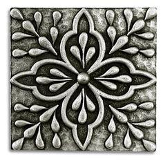 Pewter Tiles, Metal Tiles, Accent Tiles, Backsplash Tiles, Insert Tiles