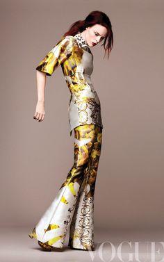 Coco Rocha, photo by Regan Cameron, Vogue Mexico