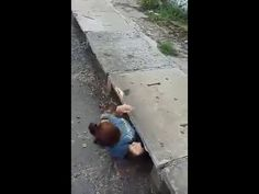 "The search has begun to learn the name of the anonymous young woman who squeezed into a storm drain to rescue a crying kitten. An international animal rescue group posted the video on its Website and Facebook page and made this comment: ""We don't know her name. We don't know what country she's in. But …"