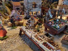 La crèche de Colette du Var - Santons et crèches de Provence